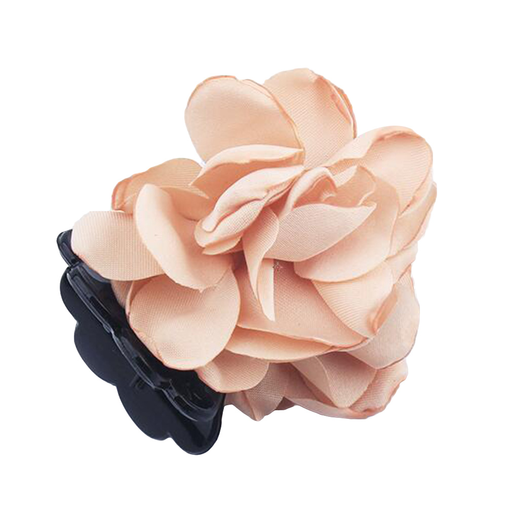 Fashion-Womens-Chiffon-Rose-Flower-Bow-Jaw-Clip-Barrette-Hair-Claw-Gift-Awesome thumbnail 5
